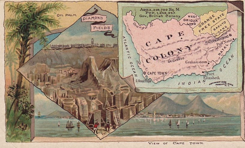 cape colony map