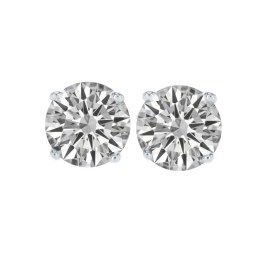 CLASSIC STUD DIAMOND EARRINGS-min