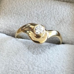 engagement ring under 1000 ils